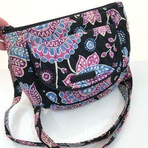 Vera Bradley Hipster Crossbody Shoulder Bag Floral